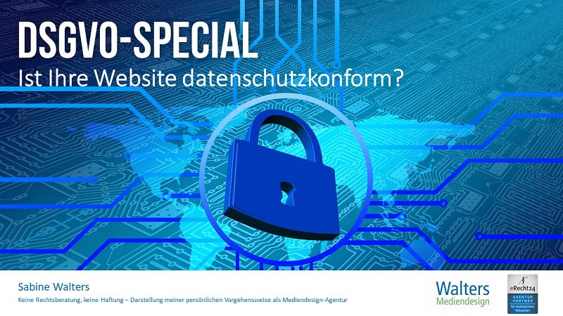 Ist Ihre Website rechtssicher? Vortrag von Sabine Walters und Christin Dietz-Roth für Unternehmerinnenforum NOK