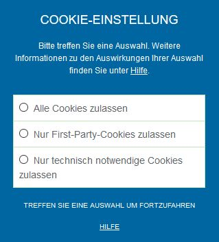 Opt-In mit Borlabs Cookie Plugin